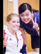 Me and Shawn Johnson